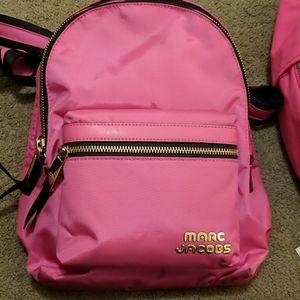 Marc Jacobs Medium Backpack in vivid pink